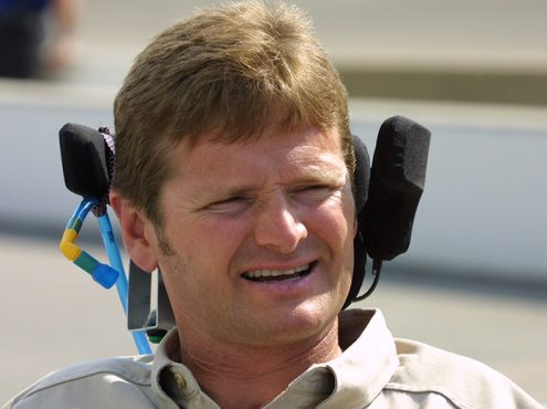 Team owner Sam Schmidt competed in the Indianapolis 500 three times as a driver. (IndyCar Photo)