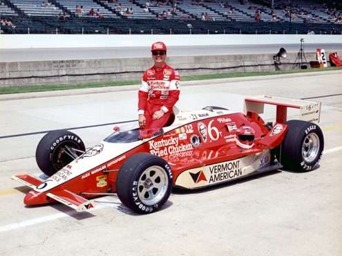 Rich Vogler at Indianapolis Motor Speedway in 1986. (IMS Archives Photo)