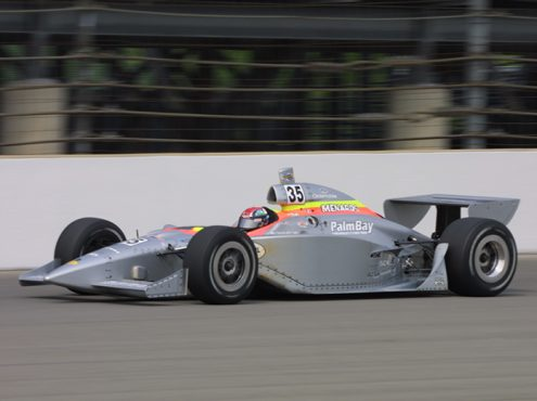 Jeff Ward made seven Indianapolis 500 starts. (IMS Archives Photo)