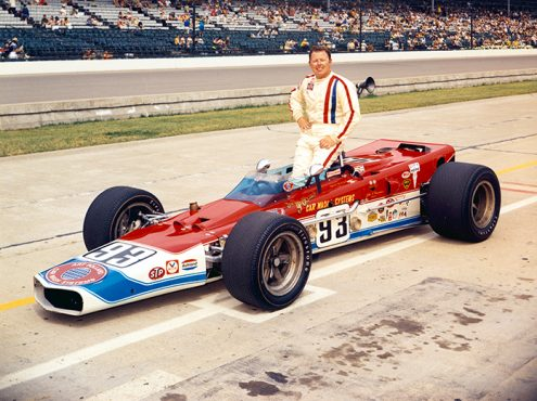 Greg Weld made one start at Indianapolis Motor Speedway in the Indianapolis 500. (IMS Archives Photo)