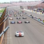 The field for the start of the 2011 Indianapolis 500. (IMS Archives Photo)