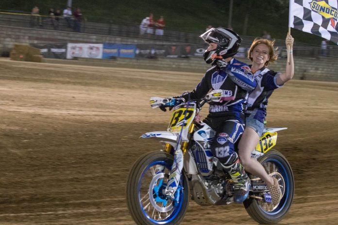 Jesse Janisch won the Springfield TT. (AFT photo)