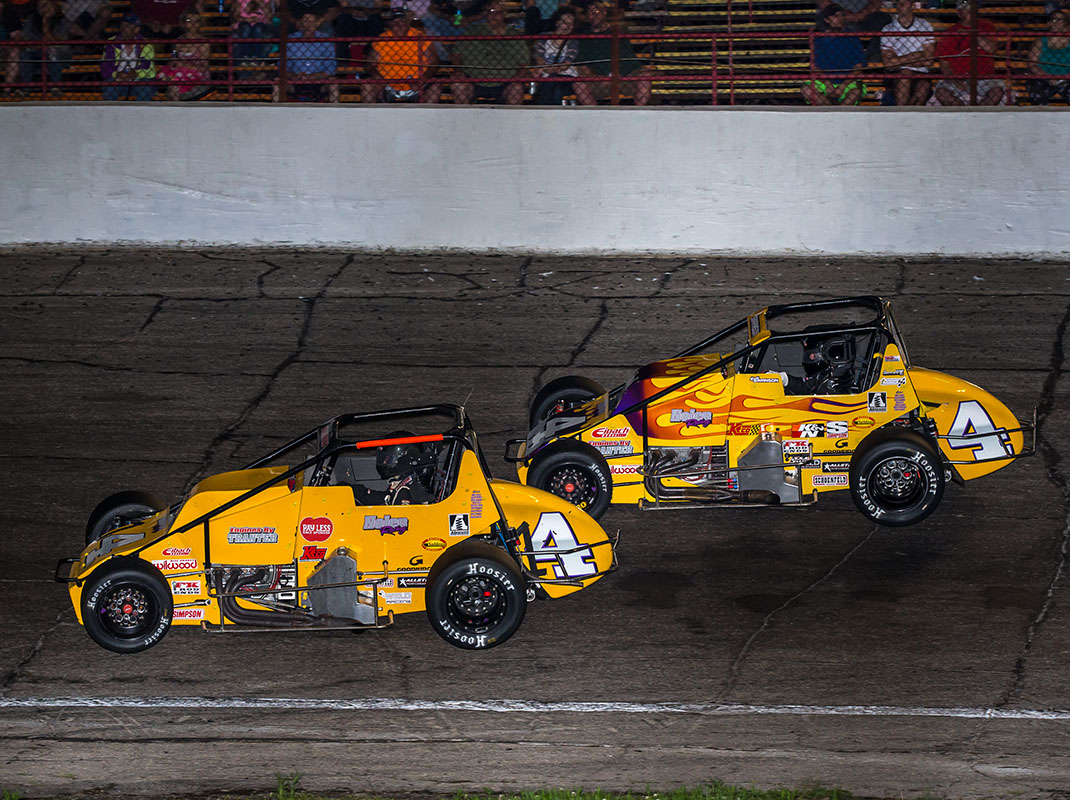 Kody Swanson and Shane Hollingsworth led 499 of 500 laps during the Little 500 for Nolen Racing. (Dallas Breeze Photo)