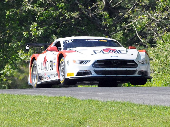 Chris Dyson raced to victory in Monday's Trans-Am Series event at Lime Rock Park. (Dave Moulthrop Photo)