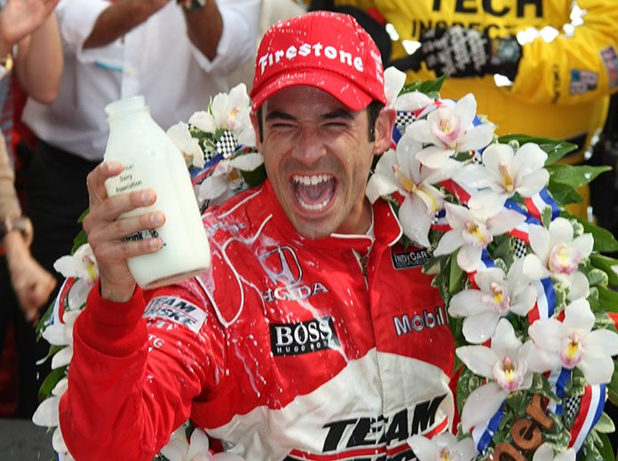 Helio Castroneves won his third Indianapolis 500 in 2009. (IndyCar Photo)
