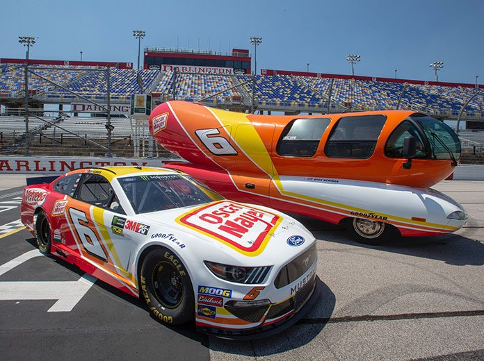 Ryan Newman's No. 6 will fly Oscar Mayer colors during the Southern 500.