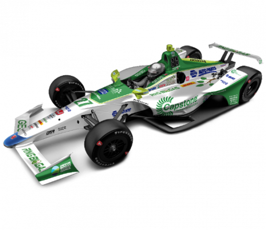 GESS International and Capstone Turbine Corporation will support Alexander Rossi in two NTT IndyCar Series events.