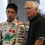 Frank Kimmel (right) with Venturini Motorsports driver Michael Self. (Adam Fenwick Photo)