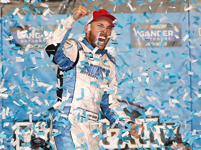 Ross Chastain had decided to forgo earning points in the NASCAR Xfinity Series to chase the NASCAR Gander Outdoors Truck Series title. (NASCAR Photo)