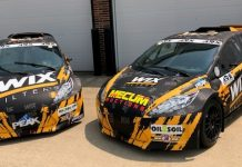 J.R. Hildebrand will join Sage Karam to compete in the Americas Rallycross opener at the Mid-Ohio Sports Car Course.