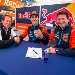 Marvin Musquin (center) has inked a two-year contract extension with KTM.