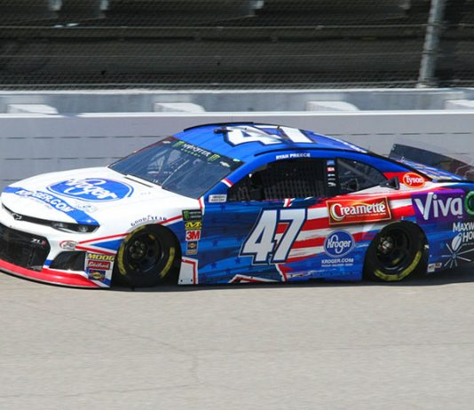 Ryan Preece is set to take on Michigan Int'l Speedway of the first time in the Monster Energy NASCAR Cup Series this weekend. (Todd Ridgeway Photo)