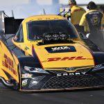J.R. Todd was fastest in NHRA qualifying Friday at Heartland Motorsports Park. (NHRA Photo)
