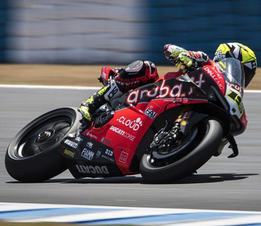 Alvaro Bautista romped to his 12th World Superbike win of the year Saturday in Jerez, Spain. (Ducati Photo)