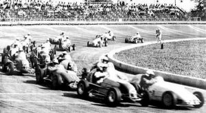 Action from the old 16th Street Speedway.