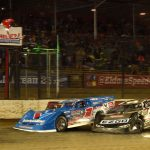 Brandon Sheppard continued his season of dominance behind the wheel of the Rocket1 Racing machine on Saturday night, scoring the $125,000 check after 100 laps in the 25th running of the Dirt Late Model Dream