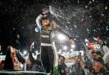 Hailie Deegan wasn't leaving Colorado without a trophy