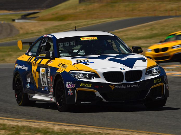 Johan Schwartz raced to victory in TC America competition Saturday at Sonoma Raceway.