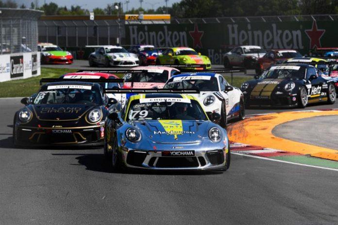 Roman De Angelis won Sunday's Porsche GT3 Cup Challenge by Yokohama event at Circuit Gilles Villeneuve. (IMSA Photo)