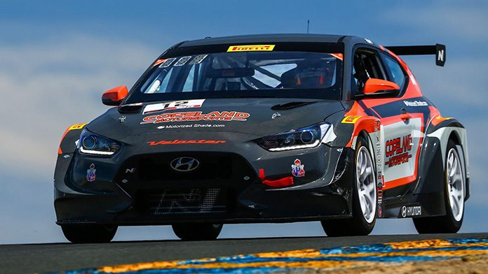 Mason Filippi rolled to a dominant victory in Sunday's TCR event at Sonoma Raceway.