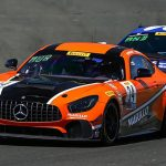 Kenny Murillo and Christian Szymczak drove to victory in Sunday's SprintX feature at Sonoma Raceway.