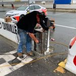 South Boston Speedway is installing a steel gate in an opening in the frontstretch wall in an effort to elevate violent crashes at that location.