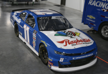 Kaulig Racing will honor Jeff Burton with a throwback scheme at Darlington Raceway.