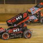 Brothers Kerry (2) and Ian (18) Madsen have made Knoxville Raceway a home away from home. (Dallas Breeze Photo)