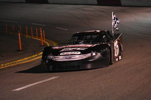 Jeremy Doss was a winner at All-American Speedway on Saturday night. (Don Thompson Photo)