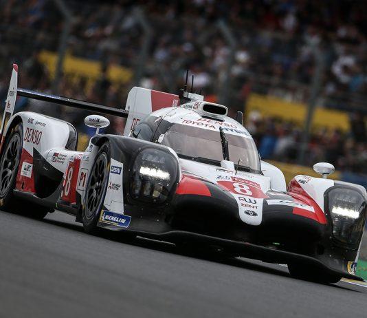 Fernando Alonso Kazuki Nakajima and Sébastien Buemi win the 24 Hours of Le Mans.