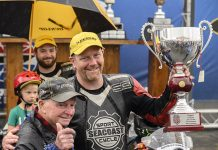 Scott Greenwood won the Loudon Classic at New Hampshire Motor Speedway on Sunday. (NHMS/Alan MacRae Photo)