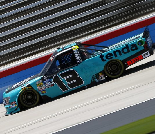 NASCAR has suspended Johnny Sauter for one race following an incident Sunday at Iowa Speedway. (NASCAR Photo)