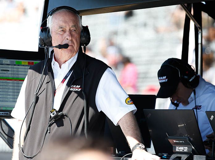 President Donald Trump is awarding Roger Penske the Presidential Medal of Freedom. (IndyCar Photo)