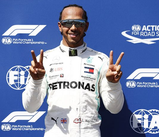 Lewis Hamilton earned yet another pole during Formula One qualifying at Circuit Paul Ricard. (Mercedes Photo)