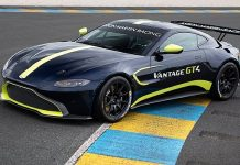CSJ Motorsports has been named the official North American distributor or sales and support of the Aston Martin Vantage GT3 and GT4 race cars.