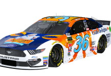 Trident Seafoods will sponsor Front Row Motorsports and Matt Tifft in four events this year.