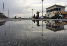 Rain washed out PDRA qualifying Friday at South Georgia Motorsports Park. (PDRA photo)