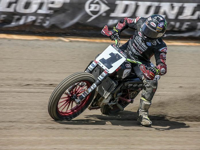 Jared Mees picked up a big victory at the Lima Half-Mile event on Saturday night. (Scott Hunter/AFT Photo)