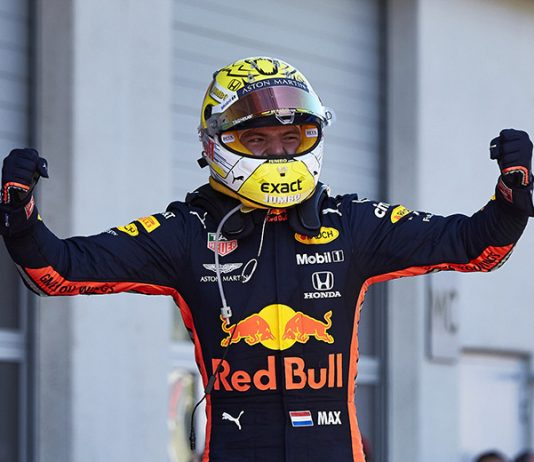 Max Verstappen scored a stunning victory in Sunday's Austrian Grand Prix. (Steve Etherington Photo)