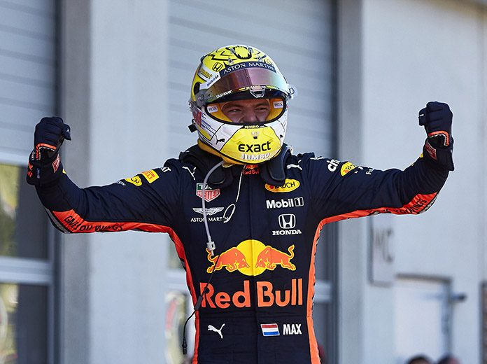 Max Verstappen scored a stunning victory in Sunday's Austrian Grand Prix. (Steve Etherington Photo)