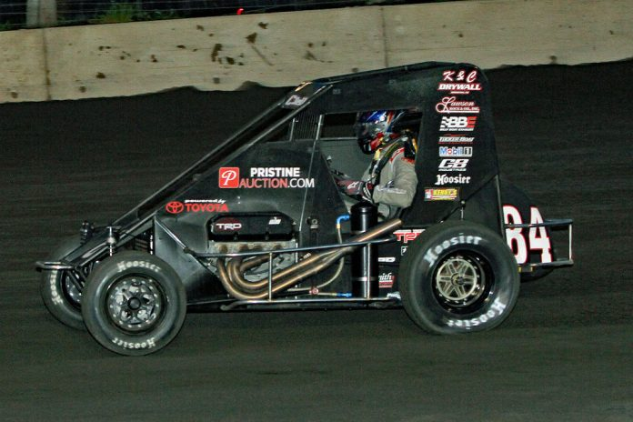 Christopher Bell in the Tucker-Boat Motorsports No. 84. (Jim DenHamer photo)