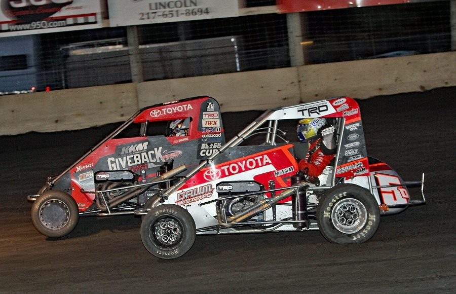 PHOTOS: POWRi Midgets Battle