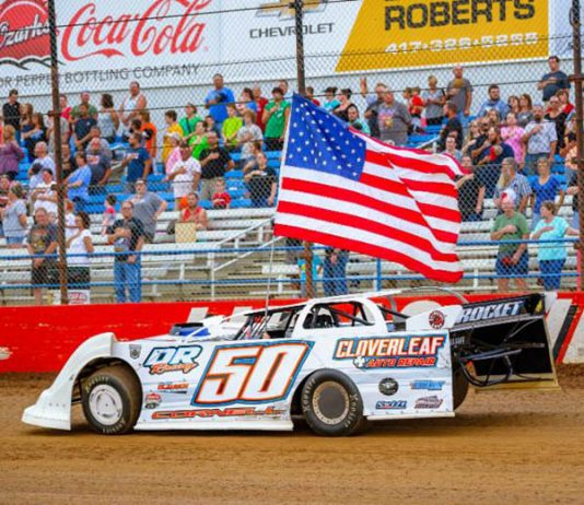 Lucas Oil Speedway will celebrate the July 4th holiday with a special Thursday Night Thunder program this week. (Kenny Shaw photo)