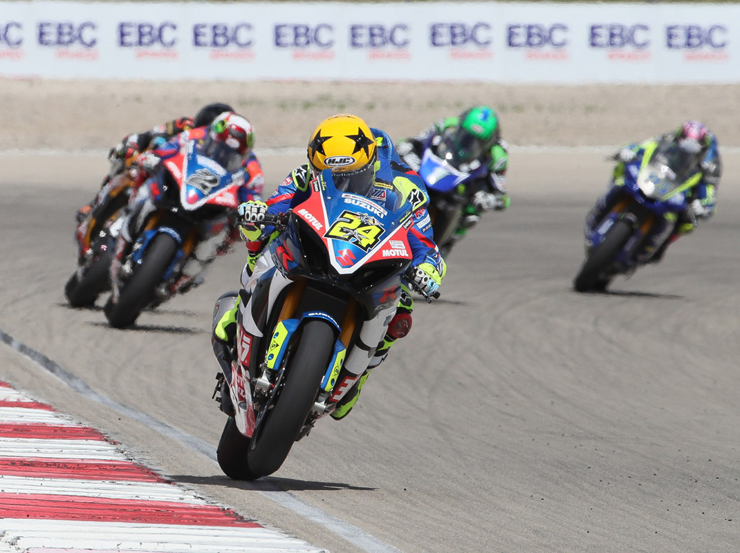 MotoAmerica Superbikes at Utah Motorsports Campus (Brian J. Nelson Photo)
