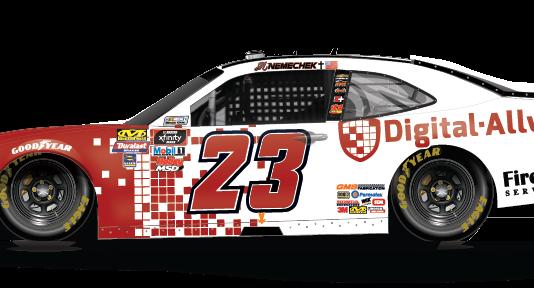 Digital Ally will sponsor John Hunter Nemechek in a pair of NASCAR Xfinity Series races.