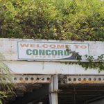 The sign above the tunnel at Concord Speedway tells the story. (Adam Fenwick photo)