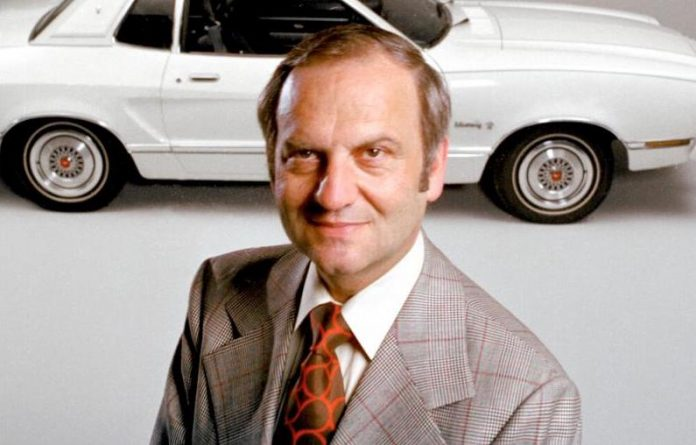 Lee Iacocca (Ford Motor Co. photo)