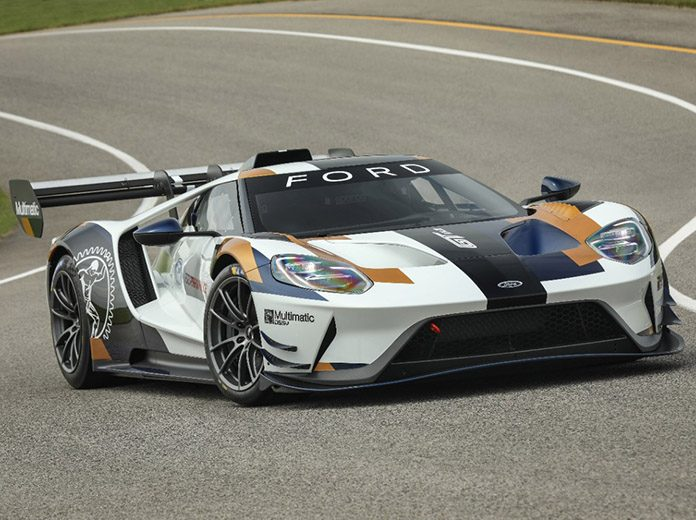 The Ford GT Mk II debuted Thursday during the Goodwood Festival of Speed.