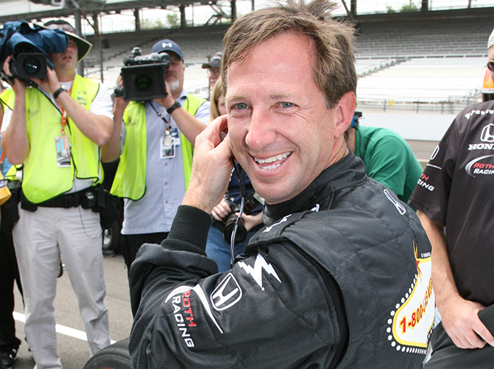 John Andretti has refused to let cancer keep him down. (IndyCar Photo)