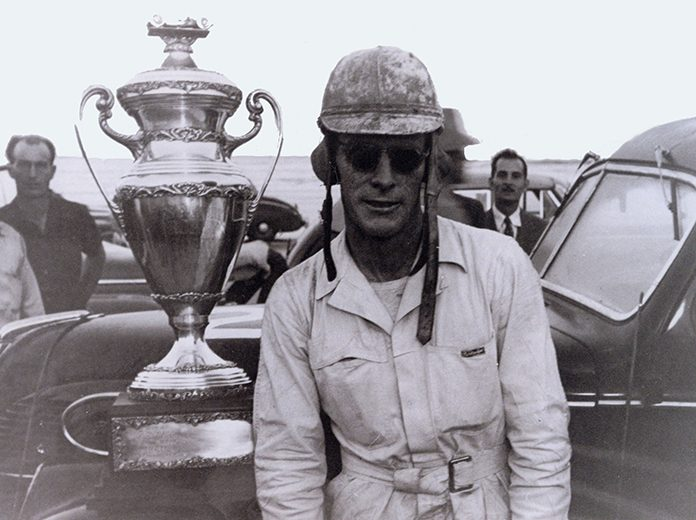 Red Byron, shown here in 1948, will enter the Motorsports Hall of Fame of America in 2020. (NASCAR Photo)